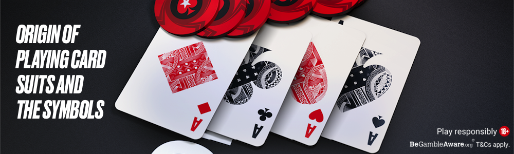 Origin of playing card suits and the symbols